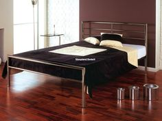 Signature Chrome Metal Bed Frame