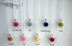 ♥ Long sautoir argenté, perle en suédine et anneau ♥ : Collier par celina-pearl-petite-seance-shopping