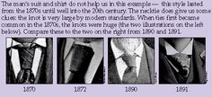 Men's Neckties - Family Chronicle - Dating Old Photographs