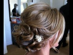 Hairstyle - Spring Prom Homecoming Party Wedding UPDO 2013 For Medium Long Hair