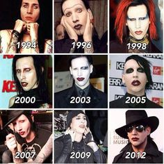 Marilyn Manson - Such the pure brilliance of MM and his own transformation!