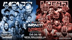 Impact Wrestling Vs Lucha Underground Live on Twitch at Wrestle Con a fun night of pro wrestling took place. Around the same time as the WWE Hall of Fame. Impact and Lucha Underground fans tuned in to watch this one time live event. The fans were vocal and expressed with great excitement which brand they were