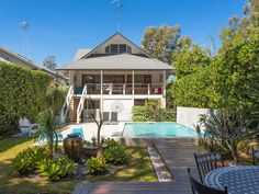 Pool +deck + garden from 9 Catalina Crescent, Avalon, NSW 2107 via realestate.com.au