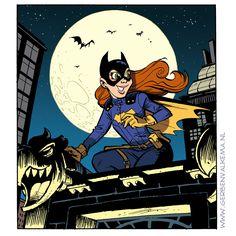 #Batgirl #fanart #gotham