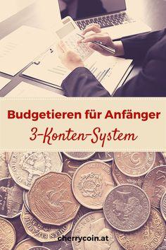 Kennst du das? Dukommst hinten und vorne nicht mit deinen Finanzen zusammen. Deine Verzweiflung steigt, und du willst deinen Kopf einfach in den Sand stecken. Stopp – kein Grund zur Panik! Dein bester Freund in diesem Moment ist ein Budget! Das 3-Konten-System ist perfekt für Einsteiger.Du hast 3 verschiedene und unabhängige Konten. Mit diesen verwaltest du deine Fixkosten, dein Sparen und deinen Spaß. #finanzen #budget #budgetieren #finanzenfüranfänger #persönlichefinanzen Budget, Personalized Items, Movie Posters, Finance, Tips And Tricks, Money, Film Poster, Budgeting, Billboard