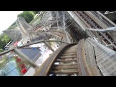 Evel Knievel/American Thunder Front Seat on-ride HD POV Six Flags St. Louis