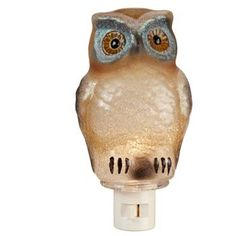 St. Nicholas Square Owl Night-Light