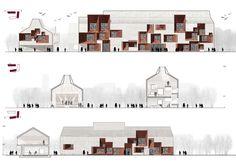 Francesca Da Canal || MIR Architettura || Nuovo Centro Civico Integrato. Travaco Siccomario