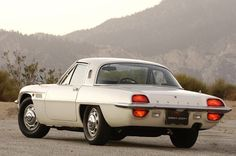 1967 Mazda Cosmo. Don't you just love the space-age styling on this car?