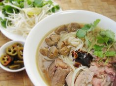 Cambodian Beef Noodle Soup