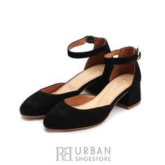 Pantofi dama casual din piele intoarsa - 221 Negru Velur Marimo, Clothing Items, Chunky Heels, Oxford, Sandals, Casual, Floor, Outfits, Shoes