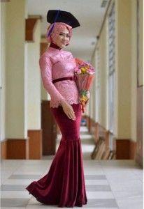 Kebaya Muslim, Kebaya Modern Hijab, Kebaya Hijab, Kebaya Brokat, Kebaya Lace, Batik Kebaya, Kebaya Dress, Batik Mode, Model Kebaya