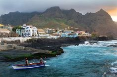 350 miles off the coast of West Africa lies an archipelago of ten volcanic islands, known collectively as Cape Verde.
