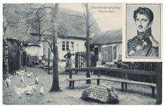 Körnerstein (zur Erinnerung an den Lützower Jäger und Dichter Theodor Körner) in Dannenberg