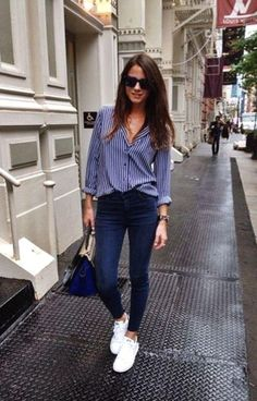 Fashion Outfits Casual Jeans Shoes Ideas For 2019 Casual Work Outfits, Winter Outfits For Work, Business Casual Outfits, Work Attire, Work Casual, Classy Outfits, Spring Outfits, Business Attire, Business Casual Sneakers