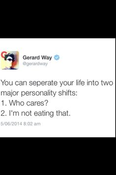Gerard way gets it #twitter