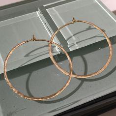 10k Hoopd Earrings