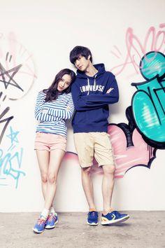 f(x) Krystal and Ahn Jae Hyun - Vogue Girl Magazine April Issue '13