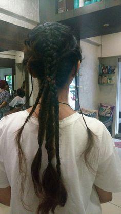 #goingtribal #braids #braidsareforgirls #braidsarefun #hairfun #hairstyle #hairstylist #forahairstylistfromahairstylist #hairdresserslife #dutchbraid #3strandbraid #4strandbraid #frenchbraid