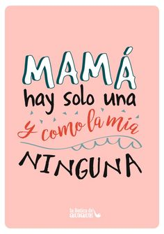 Mothers Day Crafts For Kids Mama Quotes, Mothers Day Quotes, Mothers Day Cards, Happy Mothers Day, Spanish Mothers Day, Mothers Day Crafts For Kids, Mother's Day Greeting Cards, Mom Day, Make A Gift