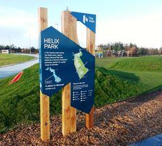 Blueton Limited - The new name in street furniture - New Orientation Boards, Helix Park, Falkirk, Scotland, Latest Projects / News