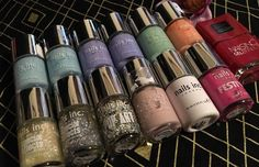 Nails Inc Nail Polish Lot of 13 Retail $11 00 Each Gel One Coat Pop Festive | eBay