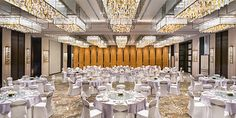 The Grand Ballroom at The Grand Mansion, A Luxury Collection Hotel, Nanjing by HBA Design.