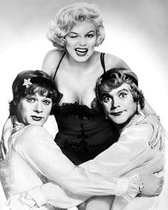 Some like it hot 1959 with Marilyn Monroe, Tony Curtis and Jack Lemmon