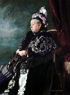 https://flic.kr/p/ScWgd7 | Queen Victoria in 1897
