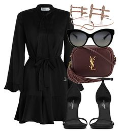 Sem título #2402 by mariandradde on Polyvore featuring Zimmermann, Yves Saint Laurent, Dolce&Gabbana and Luv Aj