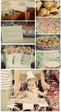 love the food displays