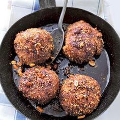 Indische gehaktballen - klein zijn ze ook lekker als borrelhapje.