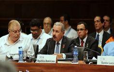 Danilo Medina proclama mensaje de optimismo para los países del Caribe