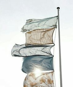 if the wind blew each day i would happily have a flag pole like this :) Photography Kim Timmerman Summer Breeze, Summer Vibes, Summer Sun, Summer Winter, Late Summer, What A Nice Day, Le Vent Se Leve, Image Film, Look Boho