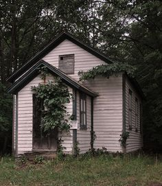 One Room Schoolhouse by blhunter09, via Flickr  No more papers, no more books,  no more teachers' dirty looks...