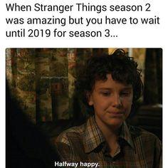 """1,679 Likes, 37 Comments - Eggos? Eggos. (@stranger_thangs_) on Instagram: """"Accurate they better not make us wait till 2019 • • #strangethings #strangerthings2…"""""""