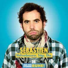 Sébastien Castro ist Sébastien. #NurEineStundeRuhe läuft jetzt im Kino. Monsieur Claude, Comedy, Florian, Star Wars, Fictional Characters, Movie, Storyboard, Film Director, Cinema