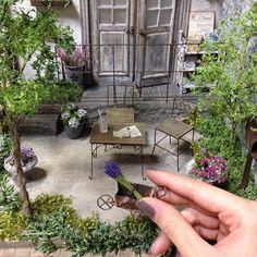 Miniature Garden Courtyard