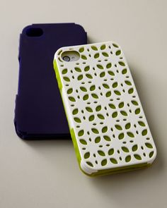 Silicone iPhone case at Horchow.