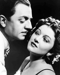 I will forever think of them as Nick and Nora Charles, no matter how many other movies I see them in! William Powell and Myrna Loy
