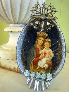 Nuestra Señora del Sagrado Corazon by La Chusma, via Flickr
