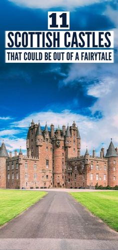 british isles Scotland is full of history, culture and natural beauty. Here we share 12 castles to visit in Scotland that simply ooze history. Fairy Pools, English Castles, Scottish Castles, Scotland Vacation, Scotland Travel, Scotland Trip, Norway Travel, Ireland Travel, Edinburgh