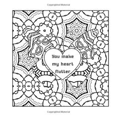 Amazon LOVE Adult Coloring Book 9781542565998 Eric Smoot Books