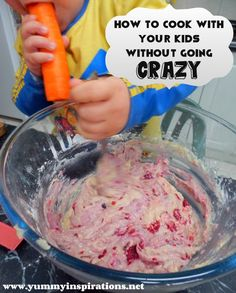 How To Cook With Your Kids Without Going Crazy