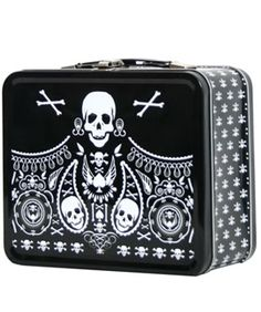 - BANDANA SKULL LUNCH BOX LOUNGEFLY OFFICIAL WEBSITE This would be perfect for Mandy if it came in pink!