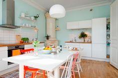 Cocina de estilo nórdico ecléctica - Ana Pla - interiorismo y decoración