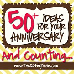 Anniversary ideas- these are amazing!