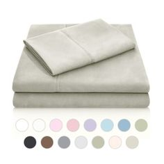 MALOUF Double Brushed Microfiber Super Soft Luxury Bed Sheet Set – Wrinkle Resistant