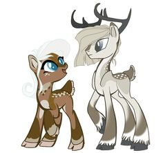 Saldemonium's Deer Ponys by Xnvy