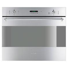 85L capacity, 9 oven functions, quadruple glazed door, timer